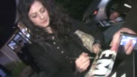 Aleksa Palladino greets fans in West Hollywood 01/28/12 in Celebrity Sightings in Los Angeles