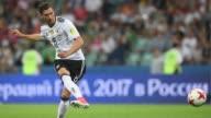 Alemania jugara el domingo la final de la Copa de Confederaciones frente a Chile tras vencer 41 a Mexico el jueves en Sochi Rusia en una semifinal...