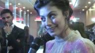 Alessandra Mastronardi at the To Rome With Love World Premiere at Auditorium Parco Della Musica in Rome Italy on April 13 2012 Alessandra Mastronardi...