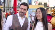 INTERVIEW Alessandro Carloni and Jennifer Yuh on what it means to have their movie premiere at the iconic TCL Chinese Theatre on if they've ever seen...