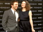 Alessandro Nivola and Emily Mortimer at the 'Paris Je T'aime' Premiere at Paris Theater in New York New York on May 1 2007