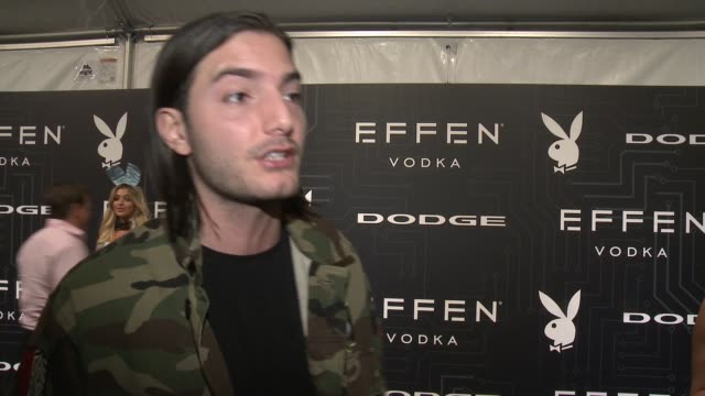 INTERVIEW Alesso at ATT Park on February 05 2016 in San Francisco California