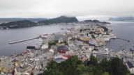 Alesund, general view of the city