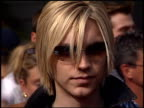 Alex Band at the American Idol Finale at the Kodak Theatre in Hollywood California on September 4 2002