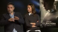 INTERVIEW Alex Garland on Stephen Hawking's saying that artificial intelligence is the death of humanity 'Ex Machina' Interview on January 19 2015 in...