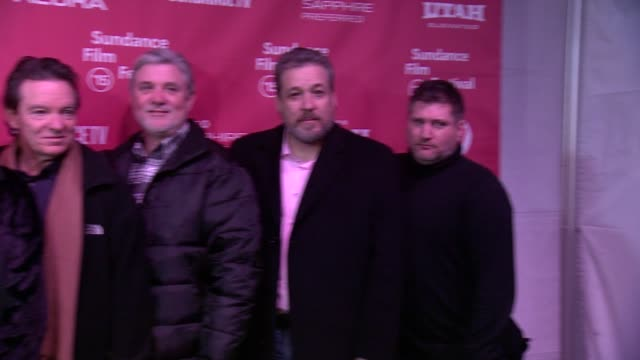 Alex Gibney Laurence Wright and cast members at 'Going Clear Scientology Hollywood And The Prison Of Belief' Premiere 2015 Sundance Film Festival at...