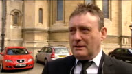 coffin carried into cathedral / Jimmy White interview Jimmy White interview SOT Was one of best friends loved him as a boy Played many fantastic...