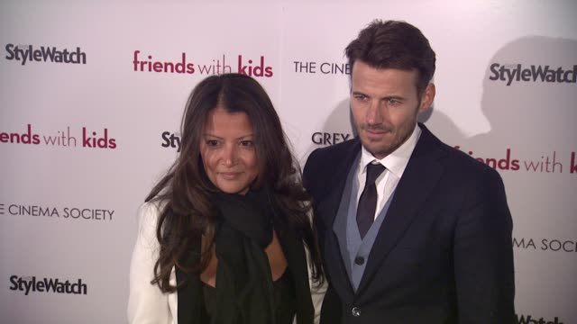 Alex Lundqvist and Guest at 'Friends With Kids' New York Special Screening on 3/5/2012 in New York NY United States