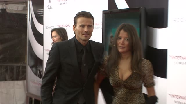 Alex Lundqvist and Keytt Lundqvist at the The International New York Premiere at New York NY