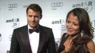 Alex Lundqvist Keytt Lundqvist on who they're wearing why they wanted to be a part of the evening what they appreciate about the work that amfAR does...