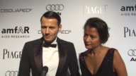 Alex Lundqvist on being a part of the night what he's most looking forward to about the night his favorite trend in men's fashion at the amfAR's...
