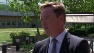 Stepfather beat him to death over lost shoe Woolwich Detective Chief Inspector Tony Lynes speaking to press SOT Various of Lilya Breha mother of Alex...