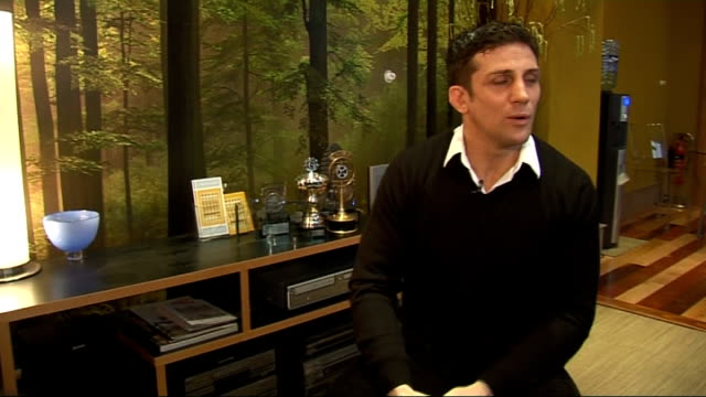 Alex Reid interview Alex Reid interview continued SOT on being a big kid going to be playing with the kid's toys at Christmas as much as them might...