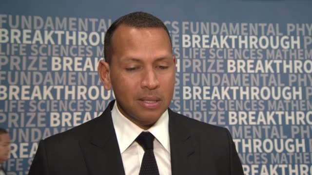 INTERVIEW Alex Rodriguez at NASA Ames Research Center on December 04 2016 in Mountain View California