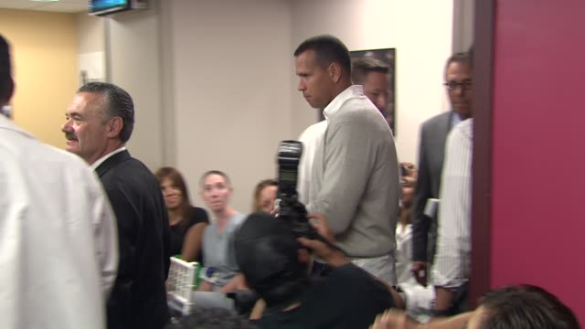 Alex Rodriguez at the BronxLebanon Hospital Center Dedication Ceremony to Alex Rodriguez at New York NY