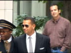 Alex Rodriguez leaves his Central Park West apartment at the Celebrity Sightings in New York at New York NY