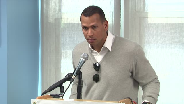 Alex Rodriguez on being proud of being involved with the hospital and pediatric center which will improve the quality of life of thousands of...