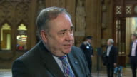 Alex Salmond saying Theresa May 'will rue the day that she edged towards telling the Scottish people what they can and can't do' in regards to the...