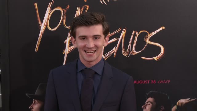 Alex Shaffer at 'We Are Your Friends' Los Angeles Premiere at TCL Chinese Theatre on August 20 2015 in Hollywood California