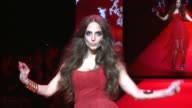 Alexa Ray Joel at Go Red Women Red Dress Collection Runway Fall 2015 MercedesBenz Fashion Week at The Theater at Lincoln Center on February 12 2015...