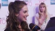 Alexa Ray Joel at the Premiere Of 'Last Play At Shea' 9th Annual Tribeca Film Festival at New York NY