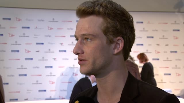 Alexander Fehling at the Shooting Stars Interview 61st Berlin International Film Festival at Berlin
