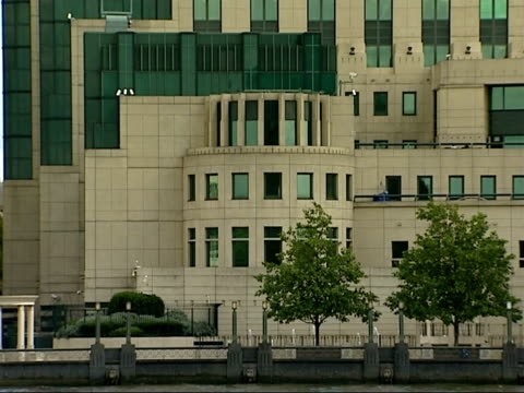 Andrei Lugovoi implicates MI6 MI6 HQ ENGLAND London Vauxhall EXT MI6 headquarters seen from across River Thames