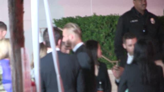 Alexander Ludwig arrives at the amfAR Inspiration Gala at Milk Studios in Los Angeles in Celebrity Sightings in Los Angeles