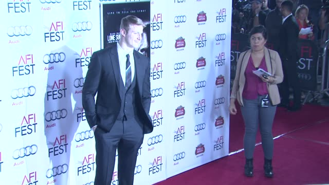 Alexander Ludwig at AFI FEST 2013 Premiere Of 'Lone Survivor' in Hollywood CA on