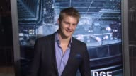 Alexander Ludwig at Man On A Ledge Los Angeles Premiere on 1/23/12 in Hollywood CA