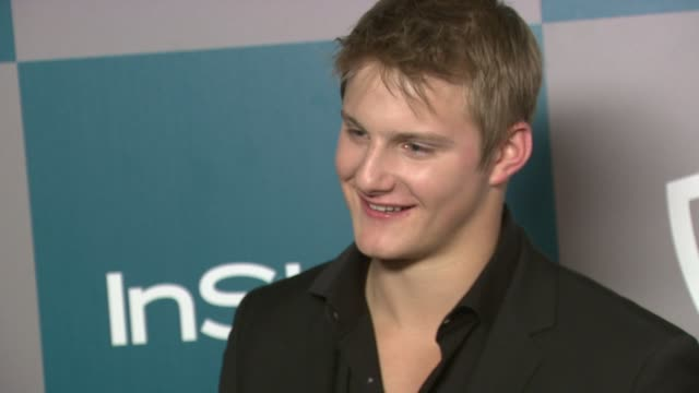 Alexander Ludwig at the 13th Annual Warner Bros And InStyle Golden Globe AfterParty in Beverly Hills CA on 1/15/12