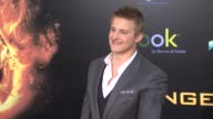 Alexander Ludwig at The Hunger Games World Premiere on 3/12/2012 in Los Angeles CA