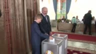 Alexander Lukashenko wins a fifth term as president of Belarus by a landslide