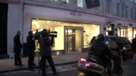Alexander McQueen Boutique at the Alexander McQueen Exteriors at London England