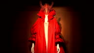 Alexander McQueen exhibition opens at Victoria and Albert Museum ENGLAND London Victoria and Albert Museum INT 'Alexander McQueen Savage Beauty'...