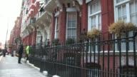 Alexander McQueen home at the Alexander McQueen Exteriors at London England
