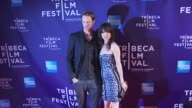 Alexander Skarsgard and Juliette Lewis at the Premiere Of 'Metropia' 9th Annual Tribeca Film Fest at New York NY
