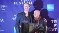 Alexander Skarsgard and Tarik Saleh at the Premiere Of 'Metropia' 9th Annual Tribeca Film Fest at New York NY