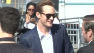 Alexander Skarsgard at the 2012 Film Independent Spirit Awards Arrivals on 2/25/12 in Santa Monica CA