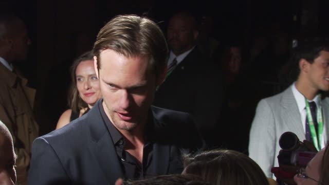 Alexander Skarsgard at the Premiere Of 'Metropia' 9th Annual Tribeca Film Fest at New York NY