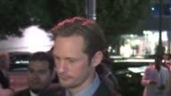 Alexander Skarsgard leaving True Blood Season 4 Premiere in Hollywood