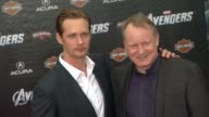 Alexander Skarsgard Stellan Skarsgard at The Avengers World Premiere on 4/11/12 in Los Angeles CA