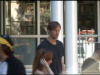 Alexander Skarsgard waits for the next scene while shooting a film in the West Village in New York 08/12/11