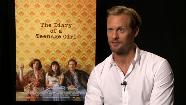 INTERVIEW Alexander Skarsgård on his character his teenage years his favorite scene at 'The Diary of a Teenage Girl' Los Angeles Press Day in West...