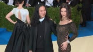 Alexander Wang and Bella Hadid at 'Rei Kawakubo/Comme des Garcons Art Of The InBetween' Costume Institute Gala Arrivals at The Metropolitan Museum of...