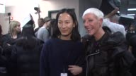 Alexander Wang and Jan Arnold at CND For Alexander Wang New York Fashion Week Fall/Winter2013 at The Cunard Building on February 09 2013 in New York...