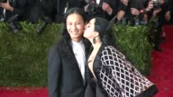 Alexander Wang and Lady GaGa at 'China Through The Looking Glass' Costume Institute Benefit Gala Arrivals at Metropolitan Museum of Art on May 04...