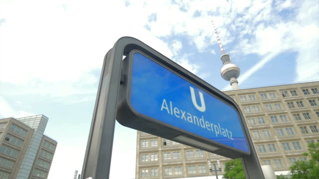 Alexanderplatz, Berlin,U Bahn,PAN,