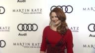 Alexandra Breckenridge at the Audi And Martin Katz Celebrate The 2012 Golden Globe Awards in West Hollywood CA