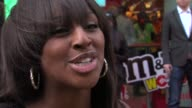 Alexandra Burke on her next single on her favourite MM flavour on JLS on Byonce playing Glastonbury at the MMs World Launch at London England